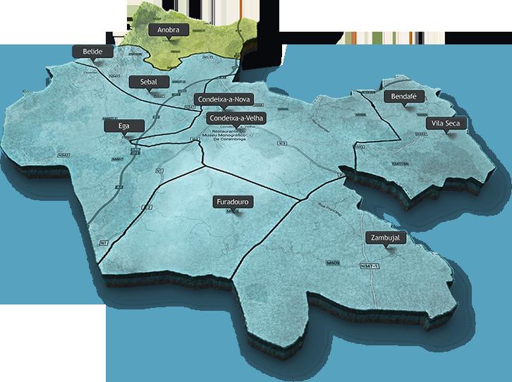 Mapa Concelho