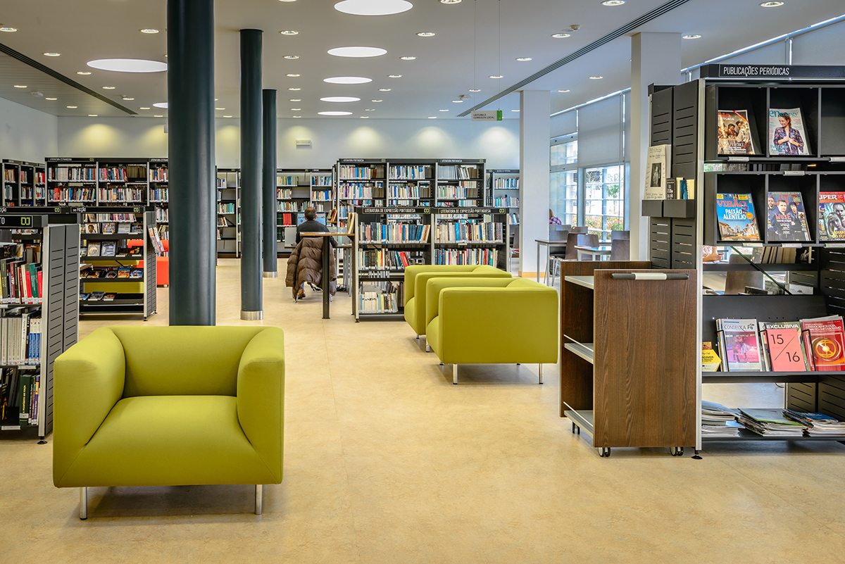 Biblioteca Municipal - Interior