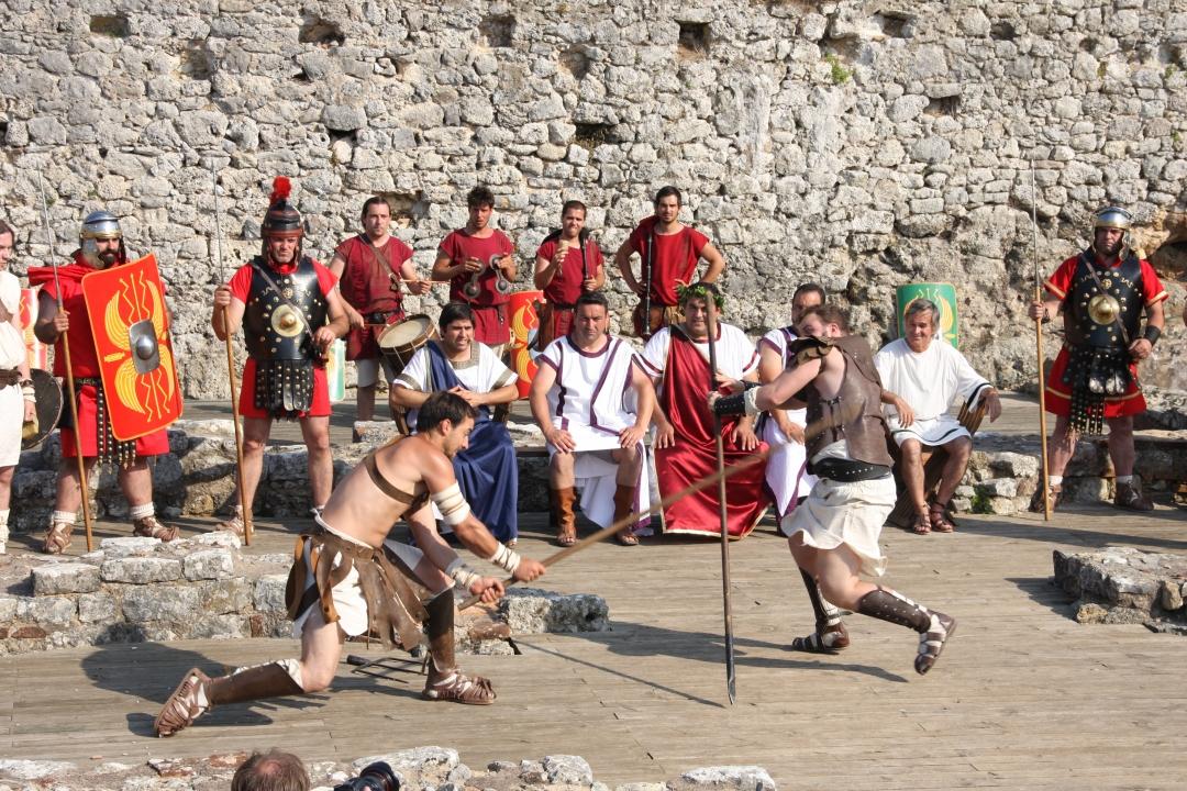 Recriação História nas Ruínas de Conímbriga